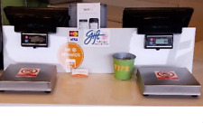 2x Sam4s Spt 3000 Pos All-in-one Touch Screen W/ Cash drawer & printer & Scales