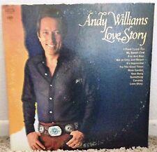 Andy Williams Love Story Vinyl LP