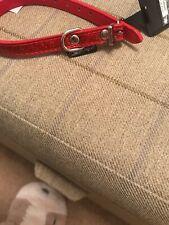 Xxsmall Red Glitter Collar
