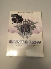 SAINTS ROW THIRD - STUDIO EDITION PRIMA OFFICIAL GAME GUIDE By Musa Alex sealed