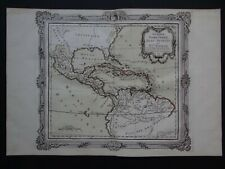 1766 Brion Atlas map Central America Caribbean Isles Antilles  Nouvelle Espagne