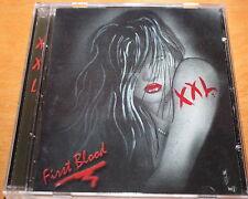 XXL First Blood CD Glam INDIE Kiss RATT Cleavage Hair Metal SLEAZE Crashdiet OOP