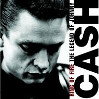 "JOHNNY CASH ""RING OF FIRE- THE LEGEND OF ..."" CD NEU!!!"