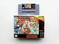 Magic Knight Rayearth RPG Game / Case SNES Super Nintendo (English) USA Seller