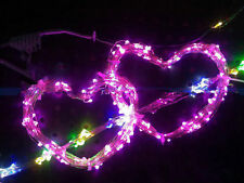 3M 30LED 3A Battery Operated String Lights Silver Wire Xmas Party Decor