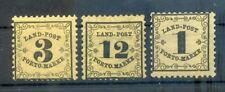 Baden Landpost 1-3 Set MH (71521