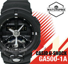 Casio G-Shock New Digital Analog Round Face Watch GA500-1A