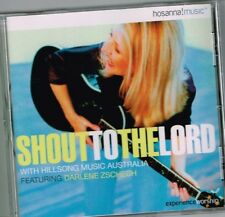 """SHOUT TO THE LORD"" Brand New CD HILLSONG Praise & Worship with Darlene Zschech"