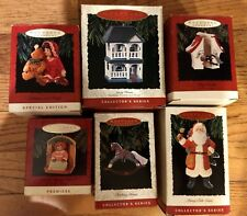 Hallmark~Ornament~Lot of 6~1993~Collector Series~Premiere~Special Edition~