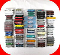 N Scale COVERED HOPPER Car Variety lot -Atlas, Trix, Bachmann, etc -2-bay, 3-bay