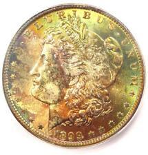 1899-O Morgan Silver Dollar $1 Rainbow Tone - Certified ICG MS67 - $2,810 Value!