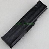 Laptop Battery For Toshiba PA3634U-1BRS PA3635U-1BRM PA3636U-1BAR Notebook 6Cell