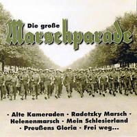 "DIE GROßE MARSCHPARADE ""WWI & WWII"" CD NEU & OVP 20 Tracks Compilation"