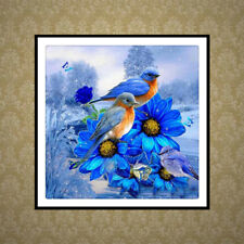 DIY 5D Diamond Painting Birds Embroidery Craft Cross Stitch Room Home Decor