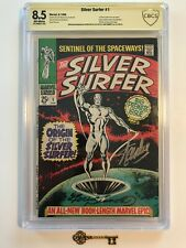 Silver Surfer #1 CBCS 8.5 SS - 1st Silver Surfer in own Series! Origin Watchers!
