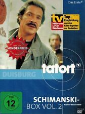 DVD-BOX NEU/OVP - Tatort Duisburg - Schimanski-Box - Vol. 2 - Götz George