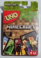 UNO Minecraft Card Game - Brand New