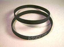 2 Replacement Drive Belts for Belt/Disc Sander 113.226431 SEARS CRAFTSMAN