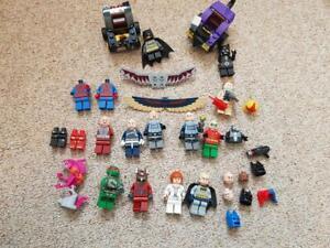 GENUINE LEGO Minifigures Bundle Marvel DC batman catwoman TMNT Fishface