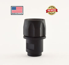 Made In USA M8x.75 to 1/2-28 Adapter & Thread Protector Walther P22 S&W M&P22