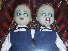 Living Dead Dolls Variant Hazel & Hattie Resurrection Glow Doll Set Horror Rare