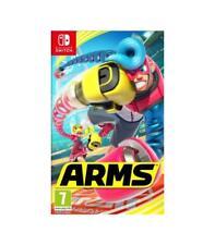 Nintendo switch Arms Region