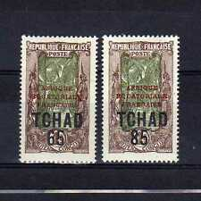 TCHAD n° 45/46 neuf avec charnière