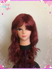 "Women Synthetic 24""inches Long Curly Wavy Full Wig  Fancy Dress Party Cosplay"
