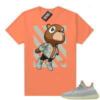 Desert Sage Yeezy 350 shirt – Hyper Orange – Fly Bear