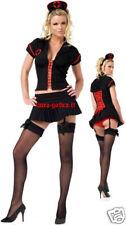 vestito infermiera nero dark gothic goth fetish sexy