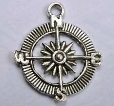 FREE SHIP 20pcsTibetan silver compass pendant 29MM  SH49