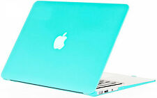"""Matte Frosted Case Shell + keyboard For Apple Mac MacBook Air 13"""" Tiffany blue"""