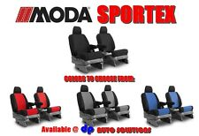 HONDA ELEMENT COVERKING MODA SPORTEX CUSTOM FIT SEAT COVERS FRONT ROW