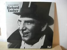 GEMM 153 4 VERDI ETC The Vocal Prime of RICHARD TAUBER PEARL MONO 2LP EX+
