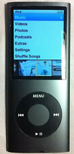 Apple Ipod Nano 4th Generation Black 8GB - Good Condition - Functions Perfectly