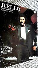 LIONEL RICHIE: HELLO (SHEET MUSIC)