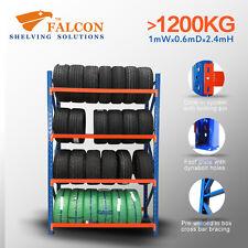 1Wx0.6Dx2.4mH,Tyres Wheel Storage Racks Stands Shelf Shelves Shelving Racking, S