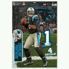 CAM NEWTON CAROLINA PANTHERS MULTI-USE DECALS 11x17 Just LIKE Fathead 4 Decals!