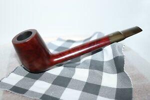 "James Upshall Tilshead England Canadian Flat S Estate Pipe 7 1/8"" ( L185 )"
