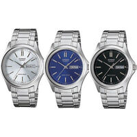 Casio Mens Watch Classic Analogue Day/Date MTP1239D Choice of 3 UK SELLER