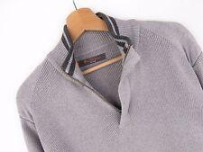 RM1517 Ben Sherman Vintage Jersey Suéter Cárdigan Original Cremallera Cuello