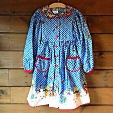 Daisy Kingdom Dress Girls 5 Disney Pooh Vintage Factory Sewn Christmas Holiday