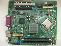Dell OptiPlex 360 Motherboard  0T656F  W/ Intel   Core 2 Duo @ 2.8 GHz   2GB RAM