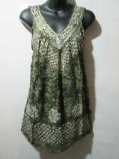 T-shirt, maglie e camicie da donna verde in cotone taglia L