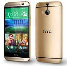 "5.0"" HTC One M8 32GB Unlocked Android OS 4G LTE Dual 4MP Smartphone - Amber Gold"