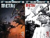 Dark Nights Metal #1 Francesco Mattina Color & Sketch Variant Batman NM LTD 1200