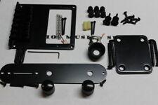 BLACK Humbucker Bridge Telecaster Body HARDWARE SET - Fender Tele