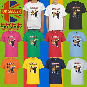 Roblox Online Game Holiday Children Kids Unisex Top Birthday Gift T-Shirt 1784
