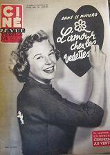 CINEMA CINE REVUE N° 30 de 1954 ALLYSON VLADY ROB ROY MONROE CAROL COOPER