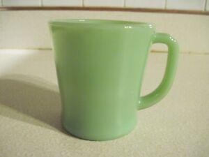Vintage Jadeite Jadite D Handle Coffee Mug